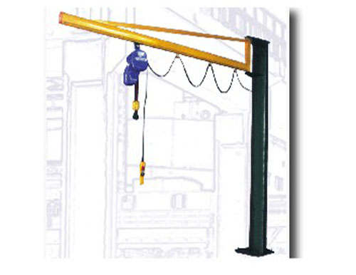 ZB-A Model Fixed column manual slewing crane